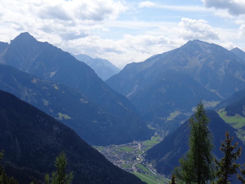 Mayrhofen vom Gerlosstein