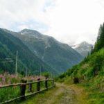 Wanderweg bei Mallnitz