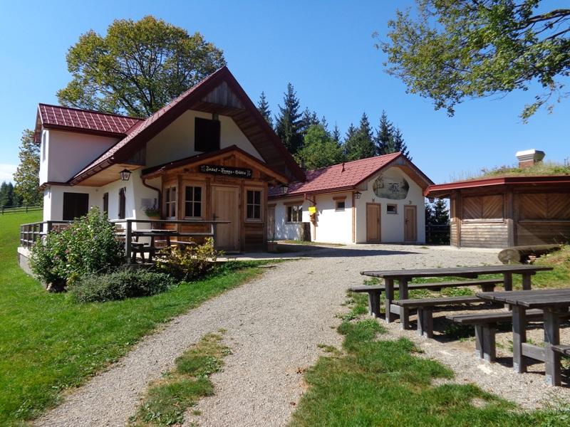 Josef Franz Hütte auf dem Geisbühel
